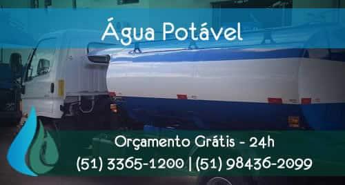 caminhão pipa em porto alegre entrega de água potável