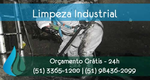 limpeza industrial em poa rs